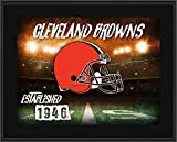 """Cleveland Browns 10.5"""" x 13"""" Sublimated Horizontal Team Logo Plaque - Fanatics Authentic Certified - NFL Team Plaques and Collages"""