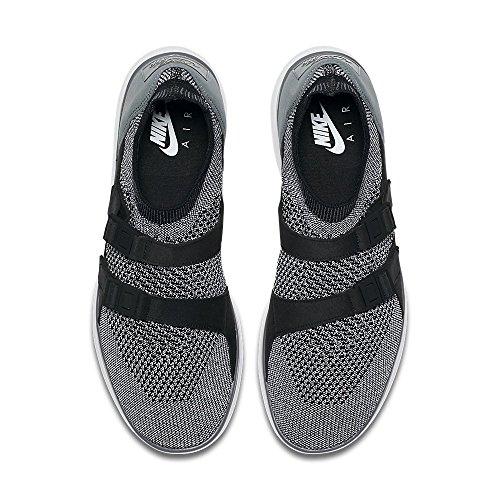 Nike Herren Air Sockracer Flyknit Weiß / Schwarz-Dunkel Grau-Schwarz