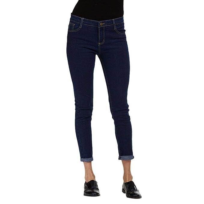 Pantaloni da Matita alla Moda da Donna Jeans Unique Stlie