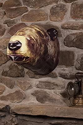 DCI hinchable cabeza de oso de trofeo de caza Decor decoración de ...