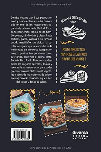 Distrito vegano. Vegan Good Food. Recetas clásicas en versión ...