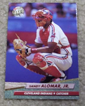 1992 Fleer Ultra Sandy Alomar Jr # 45 MLB Baseball Card