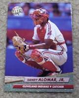 1992 Fleer Ultra Sandy Alomar Jr # 45 MLB Baseball Card