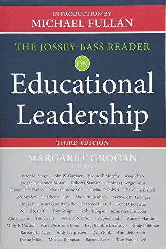 - The Jossey-Bass Reader on Educational Leadership