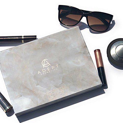 Marble Extra Large Empty Magnetic Makeup Palette Holds 70 Standard Magnetic Eyeshadows and Comes with FREE Magnetic Stickers. Depot your Highlighters, Blushes, Powders and more by Adept Cosmetics (Image #6)