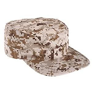 Lamdoo Gorra de Camuflaje táctica del ejército Visera y Sombreros ... b05e3d9a12f