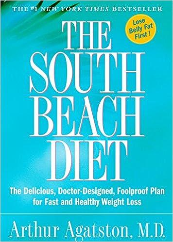 dr agatston south beach diet