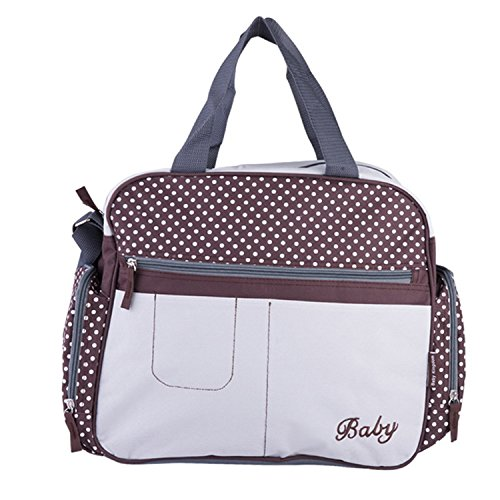Mandaartins Patchwork Mommy Bag Multifunctional Baby Diaper Bags Waterproof Changing Bag Nappy Bags Style 2 -