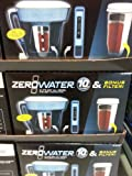 zerowater 10 cup pitcher - ZeroWater 10-Cup Pitcher (ZP-010) with Free Water Quality Meter