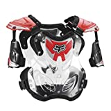 "FOX R3 ROOST DEFLECTOR RED LG 155-210+ LB/5'8""-6'2"""