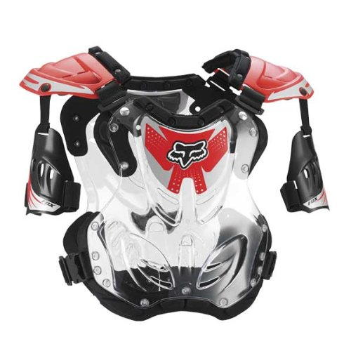 Red Mx Gear - FOX R3 ROOST DEFLECTOR RED MD 85-150+ LB/ 5'2
