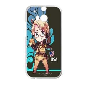 Printed Phone Case Hetalia For HTC One M8 Q5A2112223
