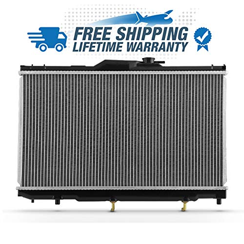 2198 Fits 1.8L 1998 1999 2001 2002 Chevy Prizm | Toyota Corolla Aluminum Radiator Direct Bolt On Replacement