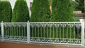Schmiedeeisen Zaun Zaune Eisen Gartenzaun Metall Monaco Z60