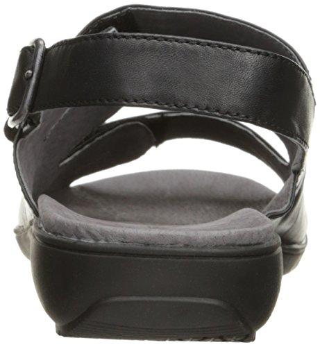 Trotter Keilabsatz mit Schwarz Frauen Sandale Kendra 8rq4HT8