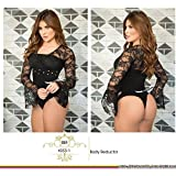 Moda Colombiana Womens Body Shaper Blouse Blusa Fajas Colombianas Ab Control Ref 4353 ONE SIZE