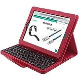 Best iPad Keyboards - Apple iPad 2/3/4 Keyboard Case,Eoso Folding PU Leather Review