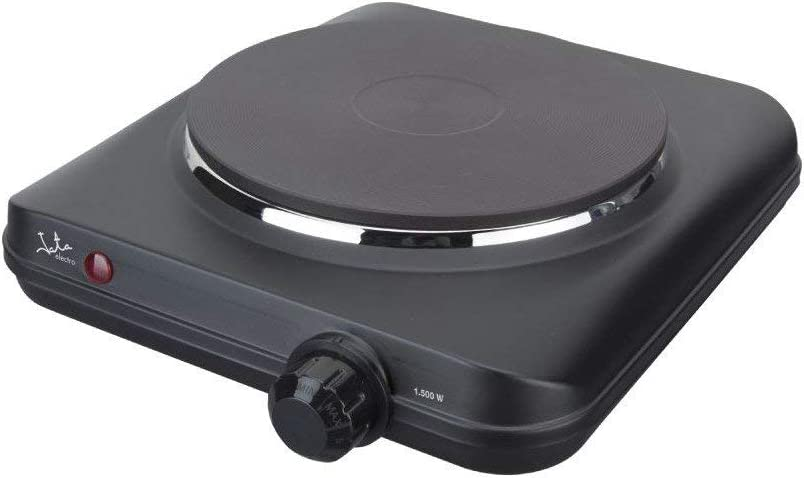 Jata CE150 Cocina Eléctrica 1 Fuego Una Placa de 18,7 cm Termostato Regulable de Temperatura 1500 W