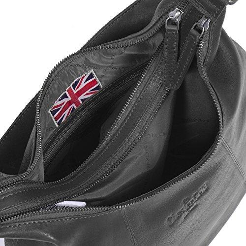 Brand Sac Jolie à 38 à Chesterfield The cm cuir Black l'épaule main porté w4ZxF4qR