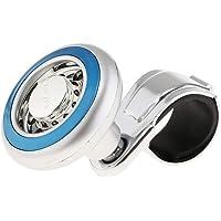 D DOLITY Maçaneta giratória para volante universal compatível com carro SUV caminhão – azul