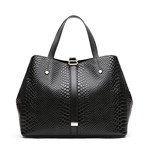 GUANGMING77 Bolsa Bolsa Bolsa Ms _ Portátil Simple Hembra, Negro black