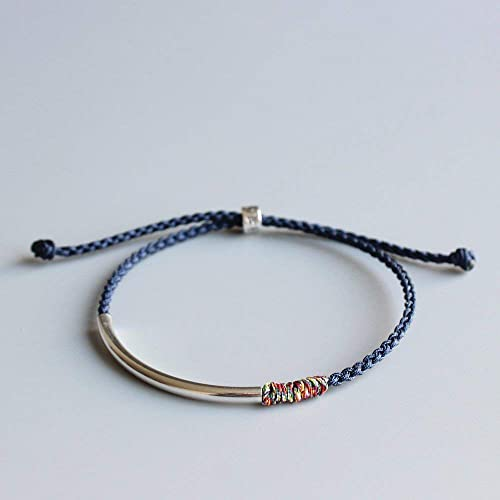 e0d88b16cd Image Unavailable. Image not available for. Color  TALE Lucky Rope Bracelet  Tibetan Monk Hand Braided Knots ...