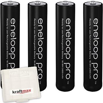 Kraftmax Eneloop Pro XX 4er-Pack: Amazon.es: Electrónica