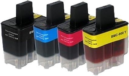 12 Cartuchos de Tinta para Impresora Brother DCP 110 C DCP 115 C ...