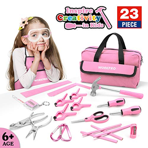 WORKPRO 23-piece Girls Tool