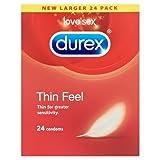 Durex Thin Feel Condoms - Pack of 24 Bild