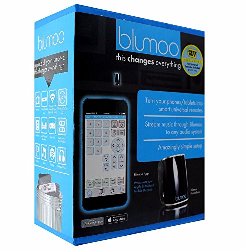 Blumoo - Smart Universal Remote Control - Black