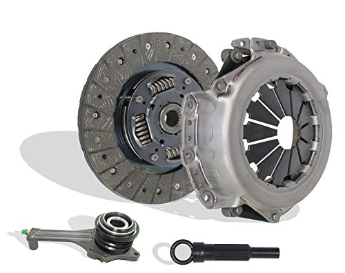 Clutch Kit Works With With Slave Mitsubishi Lancer Oz Rally Edition Ls Es 2.0L l4 GAS SOHC Naturally Aspirated 2.0L l4 GAS DOHC (5 Speed Trans)