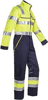 Sioen 018VN2PFA049R52Autun maglietta con ARC protezione, regular 52, ad alta visibilità, giallo/navy ad alta visibilità 018VN2PFA049R52