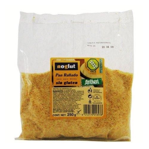 Pan rallado sin gluten Noglut Santiveri, 250 g: Amazon.es ...