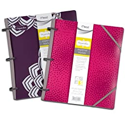 Mead Organizher Expense Tracker, 8.5 x 11 Inches, Purple Poly (64047)