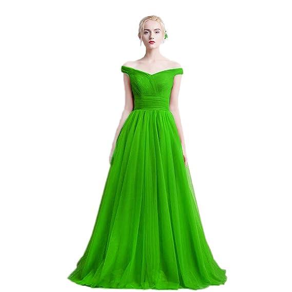 Prom dress uk green