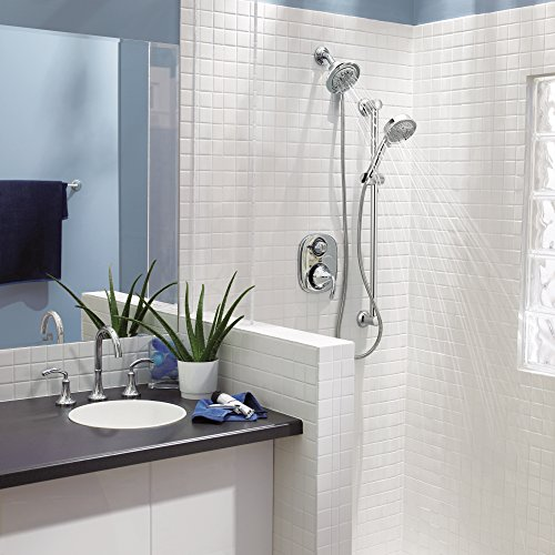 Moen 3667EP Handheld Showerhead with 69-Inch-Long Hose Featuring 30-Inch Slide Bar, Chrome