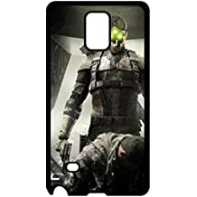 Christmas Gifts 6680246ZJ147720145NOTE4 Lovers Gifts Samsung Galaxy Note 4 Case Cover Free Splinter Cell: Blacklists Case - Eco-friendly Packaging Galaxy Note 4 cases's Shop