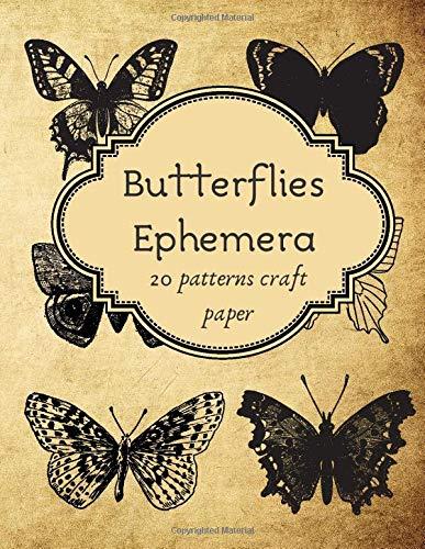 D Butterflies Playing Cards Journaling Embellishments
