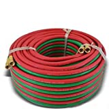 Weldcote 14TX100 Twin Hose Grade T 1/4 X 100' Bb Fittings