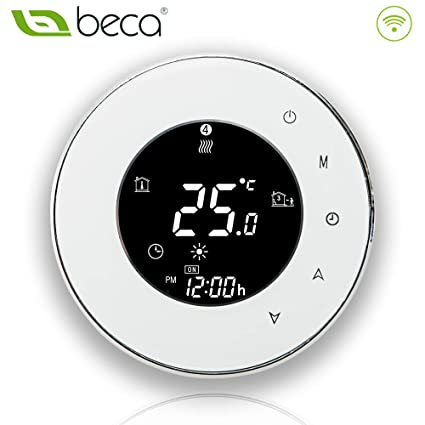 BECA 6000 Series 3/16A LCD Touch Screen Water/Electric/Boiler Heating Intelligent