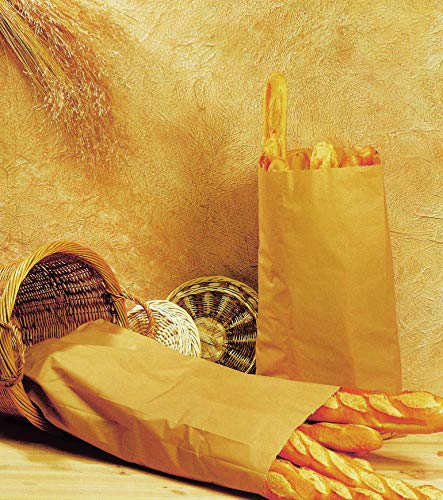 Bolsas de Papel Marrón para Pan.: Amazon.es: Hogar