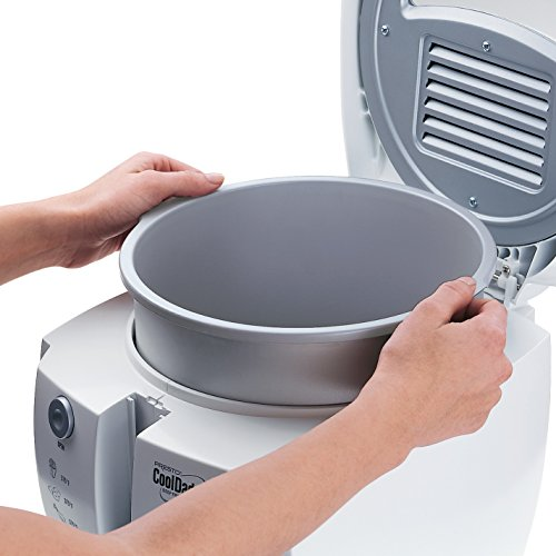Presto 05443 CoolDaddy Cool-touch Deep Fryer - White
