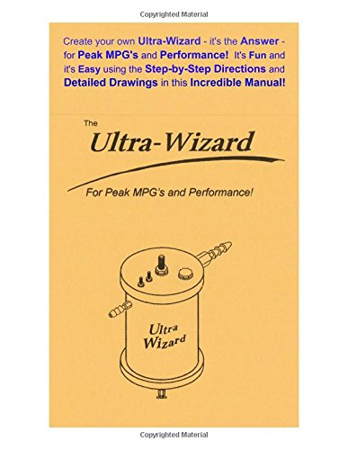 Create your own Ultra-Wizard - it's the Answer - for Peak MPG's and Performance! It's Fun and it's Easy using the Step-by-Step Directions and Detailed Drawings in this incredible - Turbine Wind Excel
