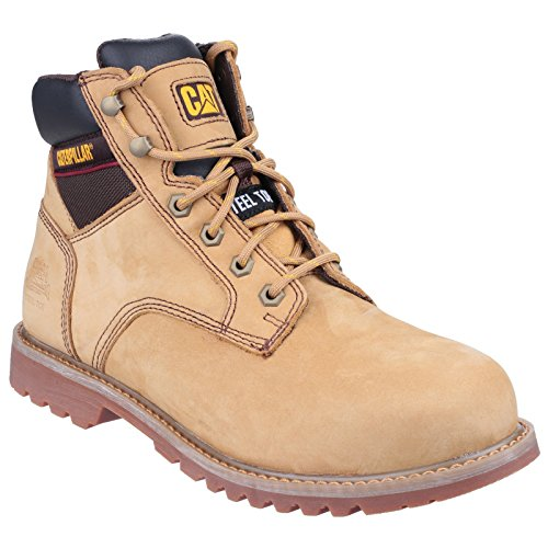 Caterpillar Electric para hombre calzado de seguridad/botas de seguridad marrón - marrón