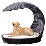 Cheap Refined Canine Outdoor Dog Chaise Lounger X-Large