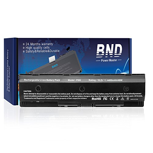 BND Laptop Battery for HP P106 PI06 710416-001 710417-001 H6L38Aa#Abb - 12 Months Warranty [Li-ion 6-Cell]