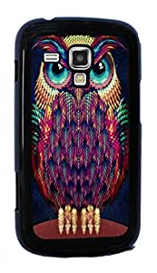 Owls Owl Cute Pattern Hard Case for Samsung Galaxy S Duos S7562 ( Sugar Skull )