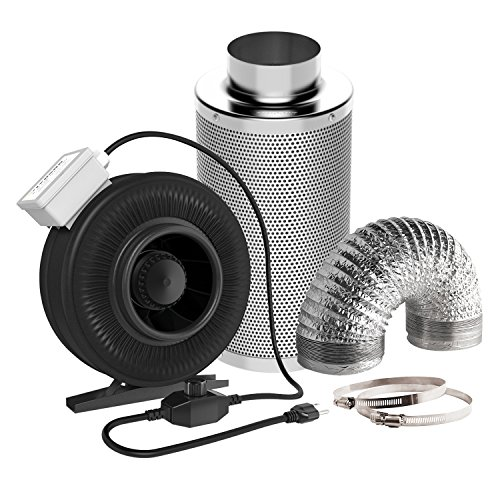 Best carbon filter 6 inch fan combo for 2019