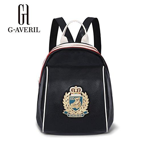 G-averil Ga1113-b - Backpack Bag Black Black Black Woman